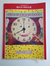 Kindegarten Skills Practice HICKORY DICKORY DOCK Home School WORKBOOK KR