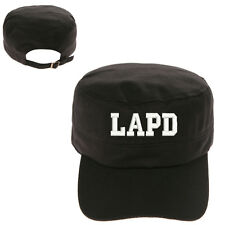 LAPD TEXT LOS ANGELES POLICE DEPT MILITARY CADET ARMY CAP HAT HUNTER CASTRO