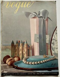 1938 Vogue Paris 30s vintage fashion Andre Durst Willy Eggarter Coco Chanel