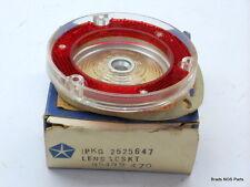 NOS MoPar 1964-1965 Plymouth Barracuda Cuda REVERSE LENS & GASKET 2525647 R/L