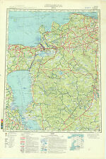 Russian Soviet Military-Engineering Maps - LUGA (Russia), 1:500 000, ed.1985