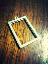 Photo Frame Pendant Locket Picture Frame Charm Pendant Rectangle NEW