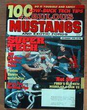 FABULOUS MUSTANGS 1992 DEC - 428SCJ, STEEDA, 4.6 4CAM