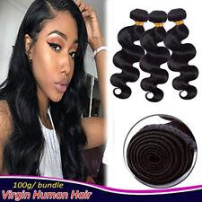 3Bundles/300g Brazilian Body Wave 100% Virgin Hair Weave Human Hair Extensions
