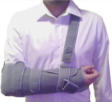Shoulder Arm Elbow Sling Splint Immobilizer Support Strap Injury Fracture Brace