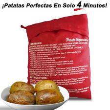 Bolsa para cocinar patatas asadas en 4 minutos en microondas Potato Express casa
