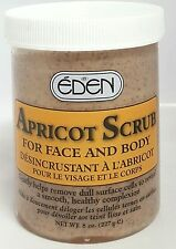 EDEN APRICOT SCRUB FOR FACE & BODY - 227G