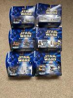 Star Wars - Episode 1 - Micro Machines - Bundle - X6 - Rare - Set - 1999