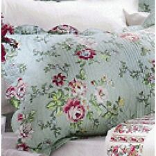 """Shabby Chic Quilted Pillow Sham Case Cushion Cover Slip 60x79cm (23x31"""")"""