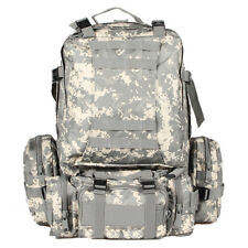 55L ACU Military Sport Camping Trekking Hiking Bag Tactical Rucksacks Backpack