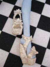 Monster High Doll Abbey Abominable clothes: Frights Scaris Pearl white shoes EXC