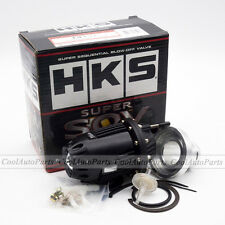 Universal Black Car HKS BOV SQV 4 SSQV IV Pull-type Turbo Blow Off Valve Adapter