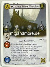 A Game of Thrones LCG - 1x König Balons Heerschar  #005 - Krieg der Fünf Könige