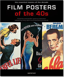 Film Posters of the 40s: The Essential Movies of the Decade Brand new