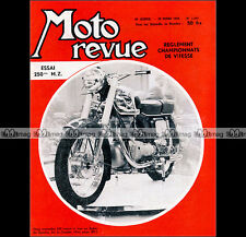 MOTO REVUE N°1384 ★ ESSAI MZ 250 ★ CONDOR SALON GENEVE TRIAL DES EXPERTS 1958