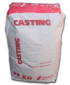 Prestia La Farge Plaster of Paris Fine Casting Powder. Bulk 25kg bag.