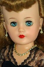 """Clear Rhinestone Jewelry Set Necklace Earrings for 18-22"""" Vintage Fashion Dolls"""