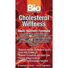 Bio Nutrition - Cholesterol Wellness - 60 Vegetarian Caps Fast 1st Class Shippin