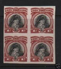 Cook Islands #85 XF/NH Imperf Block