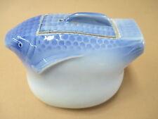 Puffer fish, blow fish, porcelain, Oriental, sauce, teapot