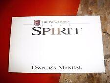 1995 Dodge Spirit Original Factory Operators Owners Manual Glove Box