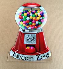 Bally Twilight Zone Pinball Machine Custom Gumball Machine TOPPER