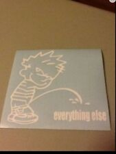Piss On Everything Else Vinyl Die cut decal,funny,truck,car,window,ipad,ford