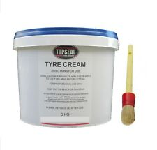 Tyre Fitting Cream Tyre Soap Premium Lubricant 5kg Tub With Paste Brush