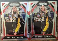 2020 Panini Prizm Racing NASCAR Brittney Zamora RC Rookie Silver & Base #59