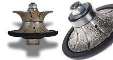 """3/4"""" Full & Half Bullnose 20mm Diamond Router Bit for granite marble concrete"""