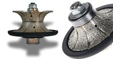 34 Full Half Bullnose Diamond Router Bit Stone Marble Concrete Countertop Edge