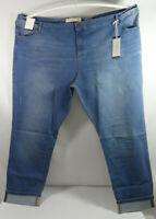 Anthology Denim Women Ladies Sadie Slim Jeans Blue Wash Size UK 32 BNWT LJOct9-1