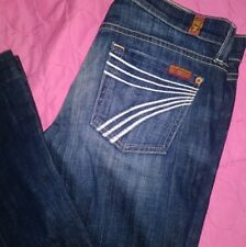Womens 7 Seven For All Mankind Dojo Jeans Size 26 X 30