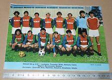 CLIPPING POSTER FOOTBALL 1980-1981 D2 FC ROUEN ROBERT-DIOCHON