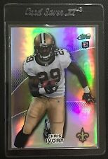 2010 eTopps #31 Chris Ivory RC Rookie - Saints #/499 - In Hand - FREE SHIPPING