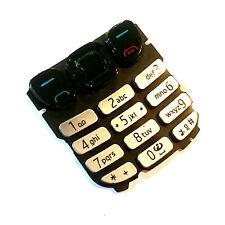 100% Véritable Nokia 6303 clavier argent numérique clés menu boutons
