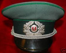 EAST GERMAN VOPO POLICE OFFICER'S VISOR CAP - SIZE 56