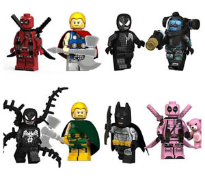 Venom Deadpool Pool Pink Bear Batman Marvel DC Super Hero Avengers War New 2019