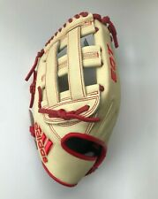 New Adidas Baseball Glove Eqt 1275 H Web Outfield Pro Series Lht Tan Red Cf9099