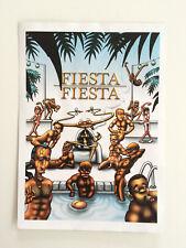 """Stammheim Kassel Original Flyer """"Fiesta Fiesta"""""""