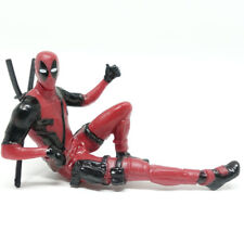 "2.75"" Marvel Deadpool Minifigure Figure X-Men Sitting Pose Figurine Toys Gifts"