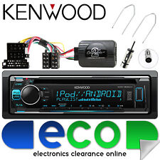 RENAULT Scenic 03-05 Kenwood CD MP3 USB STEREO VOLANTE & KIT di interfaccia