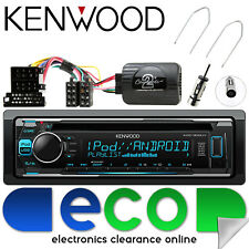 Renault Scenic 03-05 Kenwood CD MP3 USB Estéreo & Kit de interfaz de volante