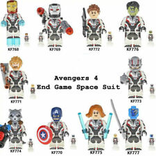 Marvel Los Vengadores Mini Figuras Lego Hulk Superman Batman Thor ajuste Spiderman UK