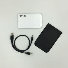 "1TB 1000GB External Hard Drive Portable 2.5"" USB 2.0 HDD  with Warranty Silver"