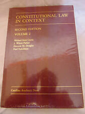 Constitutional Law in Context Second Edition Vol. 2 Carolina Academic Press New