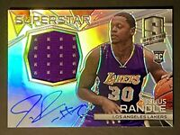 2014 Panini Spectra Julius Randle Rookie Auto RC /35 Jersey Patch RPA