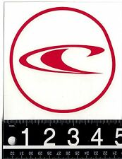 """O'NEILL 5"""" RED WAVE STICKER O'Neill Watersports 5 in. Red O'Neill Surf Decal"""