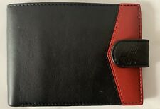 K-Way Portafoglio carte di credito nero ROSSO Wallet Kway
