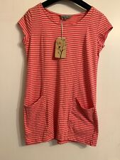 Lili & Me Stripe Top Size 10 With 2 Front Pokets BNWT